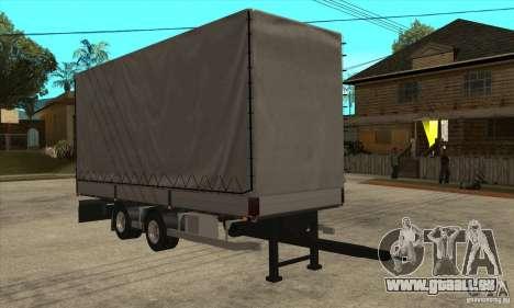 Trailer pour GTA San Andreas sur la vue arrière gauche