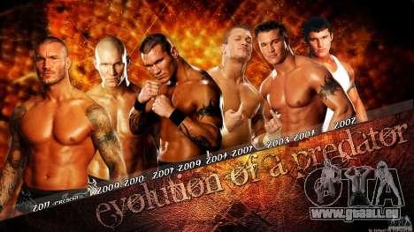 Écrans de chargement WWE 2012 pour GTA San Andreas