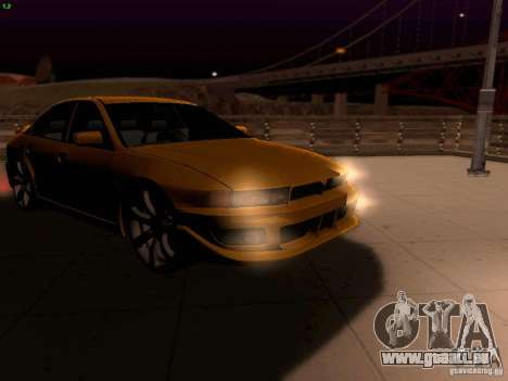Mitsubishi Galant 2002 pour GTA San Andreas vue de côté
