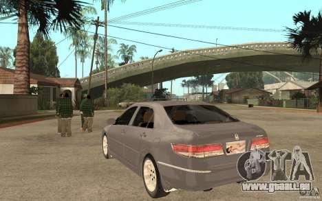 Honda Accord 2004 v2 pour GTA San Andreas sur la vue arrière gauche