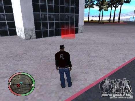 Concert de l'AK-47 v2 pour GTA San Andreas sixième écran