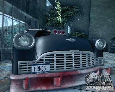 Diablo Cabbie HD pour GTA San Andreas vue de côté