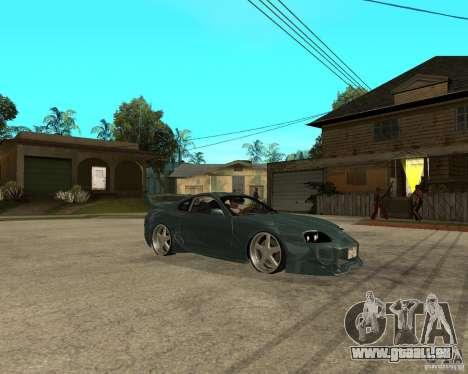 Toyota Supra Veilside pour GTA San Andreas vue de droite