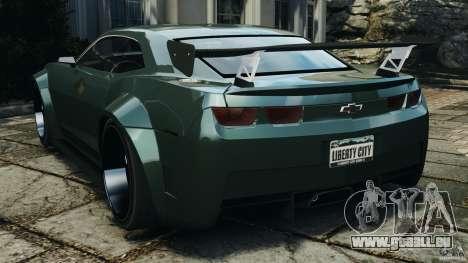 Chevrolet Camaro SS EmreAKIN Edition für GTA 4 hinten links Ansicht