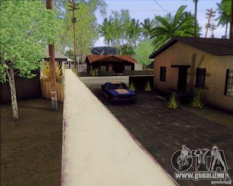SA_Mod v1.0 pour GTA San Andreas quatrième écran