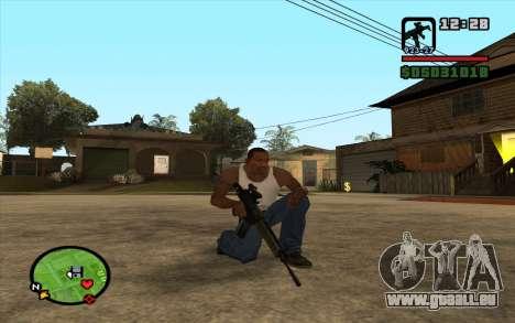 Bofors AK-5 pour GTA San Andreas deuxième écran