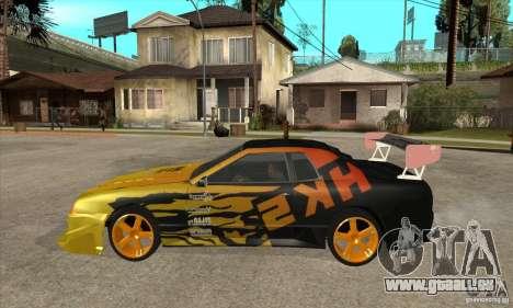Tuneable Elegy v0.1 für GTA San Andreas linke Ansicht