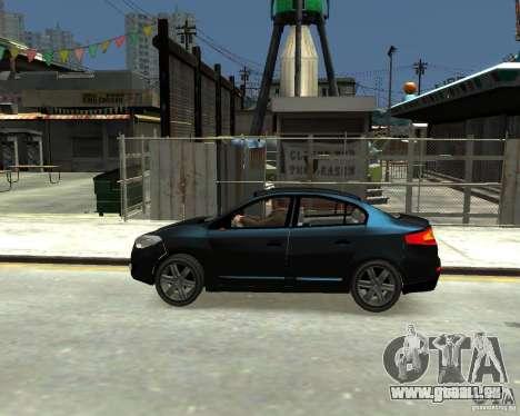 Renault Fluence für GTA 4 linke Ansicht