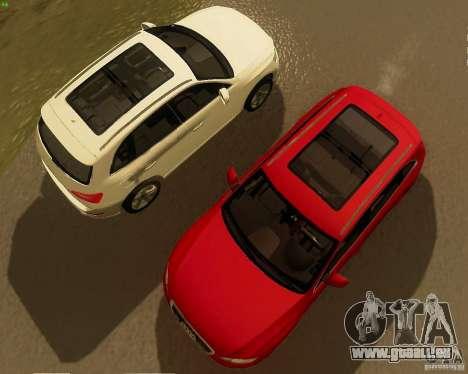 Audi Q5 für GTA San Andreas zurück linke Ansicht