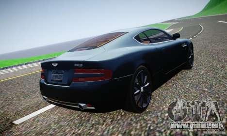 Aston Martin DB9 2005 V 1.5 pour GTA 4 est une vue de dessous