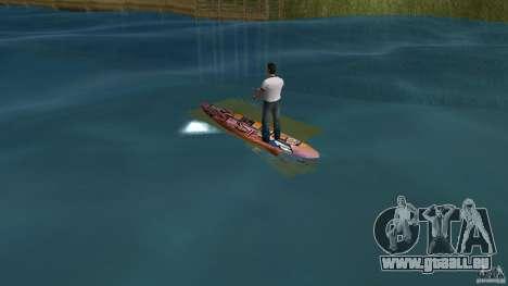 Surfboard 1 pour GTA Vice City sur la vue arrière gauche