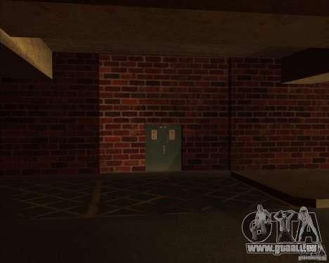 Neue Garage Polizei LSPD für GTA San Andreas