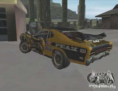 Boxer from FlatOut2 pour GTA San Andreas vue de droite