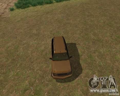 Cavalcade de GTA 4 pour GTA San Andreas sur la vue arrière gauche