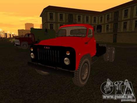 GAZ 53 LKW für GTA San Andreas