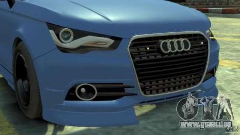 Audi A1 pour GTA 4 Vue arrière