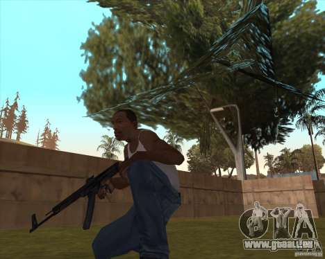 Mp43 (stg44) from wolfenstein pour GTA San Andreas deuxième écran