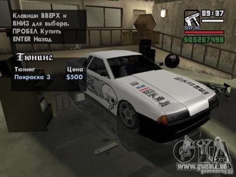 Ultra Elegy v1.0 für GTA San Andreas Seitenansicht