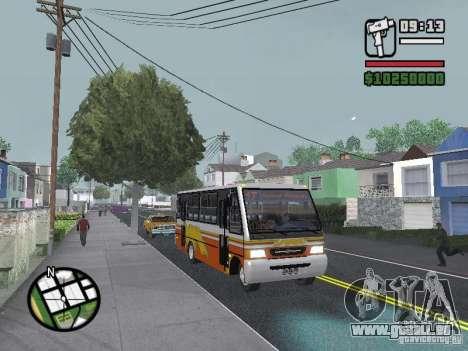 Ciferal Agilis M.Benz LO-814 BY GTABUSCL pour GTA San Andreas vue de côté