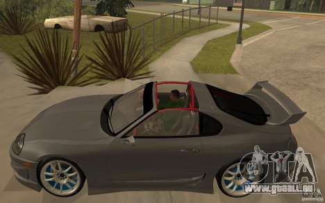Toyota Supra Rz The Bloody Pearl 1998 für GTA San Andreas linke Ansicht