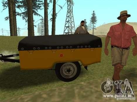 MAZ 8114 veau pour GTA San Andreas laissé vue