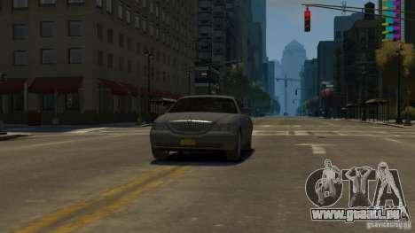 Lincoln Town Car 2003-11 v1.0 pour GTA 4 est un droit