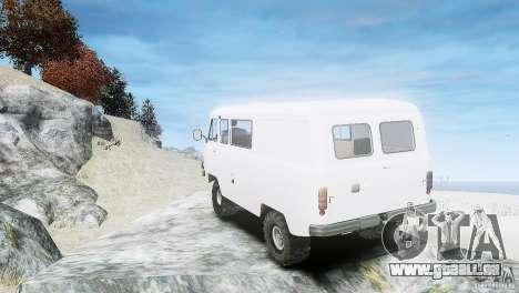 UAZ 3909 für GTA 4 rechte Ansicht