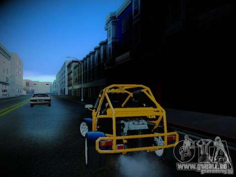 Buggy From Crash Rime 2 für GTA San Andreas linke Ansicht