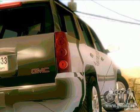 GMC Yukon Denali 2007 pour GTA San Andreas vue de droite