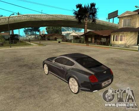 Bentley Continental GT für GTA San Andreas linke Ansicht