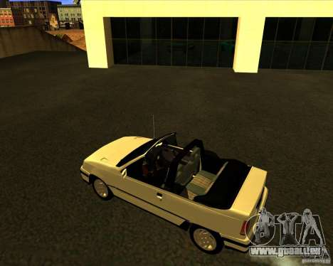 Chevrolet Kadett GSI 2.0 Conversivel (1991-1995) für GTA San Andreas linke Ansicht
