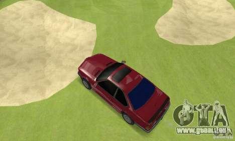 BMW M6 E24 stock pour GTA San Andreas vue de droite