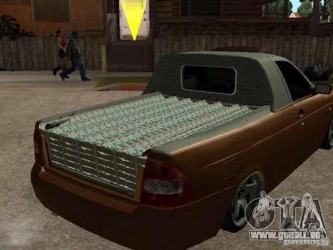 LADA 2170 Pickup für GTA San Andreas Rückansicht