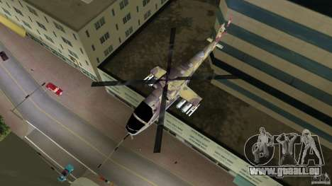 Mi-24 HindB für GTA Vice City zurück linke Ansicht