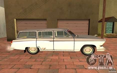 GAZ 22 pour GTA San Andreas sur la vue arrière gauche