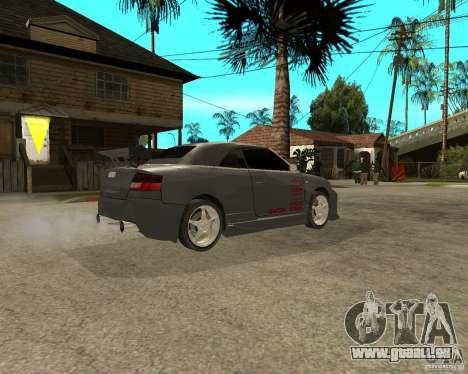 AUDI A4 Cabriolet pour GTA San Andreas vue de droite