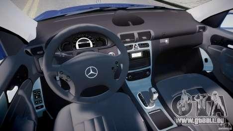Mercedes-Benz C32 AMG 2004 für GTA 4 Rückansicht