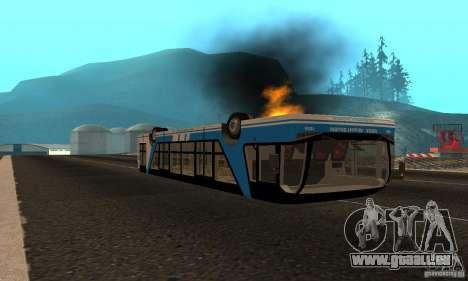 Design X XAPGL für GTA San Andreas Rückansicht