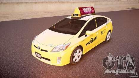 Toyota Prius NYC Taxi 2011 pour GTA 4