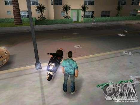 PIAGGIO NRG MC3 für GTA Vice City Rückansicht
