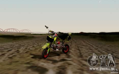 Kawasaki 50cc Pocket Factory Bike pour GTA San Andreas