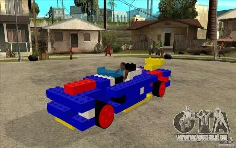LEGO-mobile für GTA San Andreas