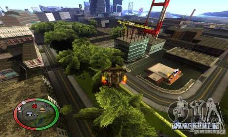 NEW STREET SF MOD für GTA San Andreas achten Screenshot