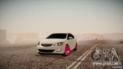 Opel Astra 2010 für GTA San Andreas
