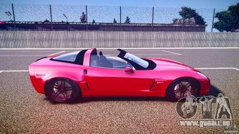 Chevrolet Corvette Z06 1.2 pour GTA 4 est un côté