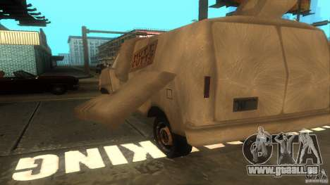Dumb and Dumber Van für GTA San Andreas Rückansicht