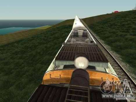 2TE10U-0137 für GTA San Andreas Rückansicht