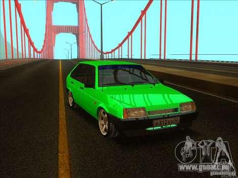 VAZ 2109 Winter für GTA San Andreas