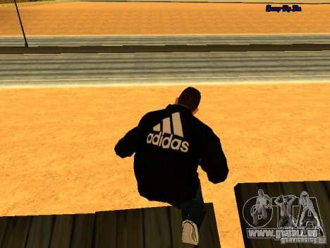 Nouvelle peau pour Gta San Andreas pour GTA San Andreas deuxième écran