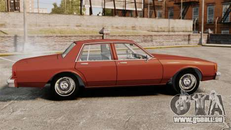 Chevrolet Caprice Classic 1979 pour GTA 4 est une gauche